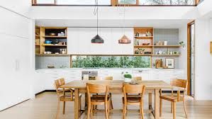 designer kitchen table kitchen and dining room modern house design with white interior