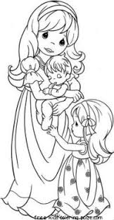 printable precious moments family coloring pages for kidsfree