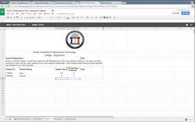 Spreadsheet Online Free Online Attendance Sheet By Using Google Spreadsheet Youtube