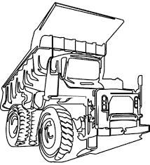 dump truck coloring pages 28 images dump truck coloring