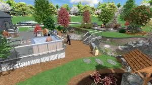 Backyard Pond Landscaping Ideas Landscape Design Software Gallery