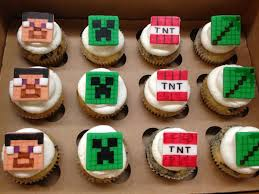 minecraft cupcakes plumeria cake studio minecraft cupcakes and cookies
