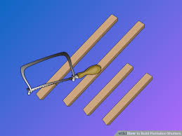 How To Cut A Blind To Size How To Build Plantation Shutters 15 Steps With Pictures