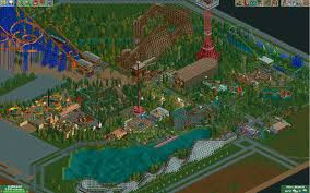 Six Flags Guide Six Flags Over Texas Scenario Guide Rollercoaster Tycoon