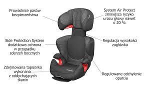 fotelik maxi cosi rodi airprotect ap 15 36 kg black