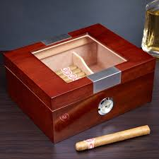 cigar gift set decor cool custom engraved humidors for storage ideas and home
