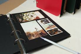 photo album with adhesive pages sheets for photo album a4 diy scrapbook paper crafts black