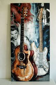 135 best guitar paintings images on pinterest guitar painting original guitar painting by magda magier magdamagier etsy com guitarpainting musicart
