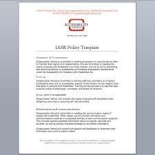 iasr policy template u2013 accessibility ontario