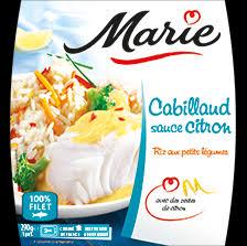 riz cuisiné plats cuisinés cabillaud sauce citron riz aux petits légumes plats