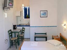 chambre studio location studio dans un bloc appartement à naxos iha 74334