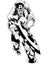 marvel comic captain america coloring u0026 coloring pages