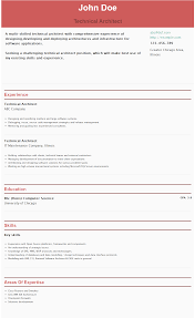 Solution Architect Sample Resume by Technical Architect Resume Resume For Your Job Application