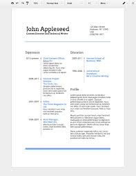 resume templates for google docs google docs resume templates by