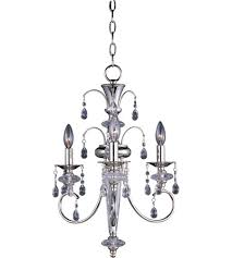 Maxim Chandeliers Maxim 24303clpn Montgomery 3 Light 16 Inch Polished Nickel Mini