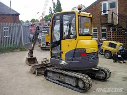 used volvo ecr 28 mini excavators u003c 7t mini diggers for sale