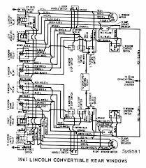 lincoln continental convertible 1961 rear windows wiring diagram