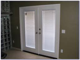 decor french door patio doors lowes with natural wood frame for