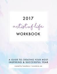 Life Planning Worksheet 2017 Artist Of Life Workbook Digital Lavendaire Goal Planning