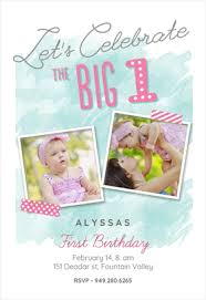 free 1st birthday invitation templates greetings island