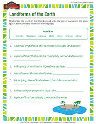 pictures on middle science worksheets printable free