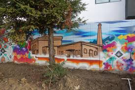 station house mural street art sf train station culture and history of west oakland street art mural by ryan montoya in