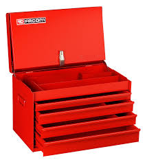 facom bt 28 metal 4 drawer construction chest