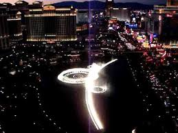 Cosmopolitan Terrace One Bedroom Cosmopolitan Las Vegas View From Terrace Bellagio Fountain Youtube