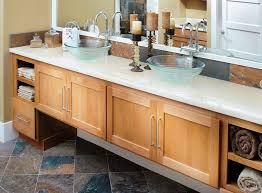 Bathroom Cabinets Seattle Canyon Creek Cornerstone Shaker In Alder With A Cinnamon Finish