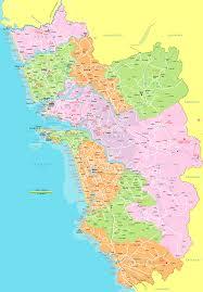 Gujarat Blank Map by Political Map Goa 1 U2022 Mapsof Net
