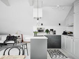 tapis de cuisine et gris design interieur interieur scandinave cuisine blanc gris tapis