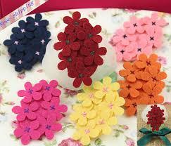 Wholesale Flowers Felt Flowers And Ribbon Bow Wholesale Flowers Diy Accessories