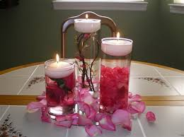 diy wedding floating candle centerpieces long island weddings