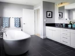 Dark Bathroom Ideas by Black Tile Bathroom Floor Zamp Co
