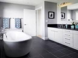 black tile bathroom floor zamp co