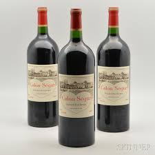château calon ségur grand cru chateau calon segur 2009 3 magnums sale number 3028t lot