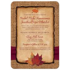 Email Wedding Invitation Cards Fall In Love Photo Wedding Invite Faux Burlap Printed Wine