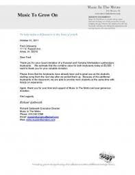 501c3 letter of donation fundraising donation letter template
