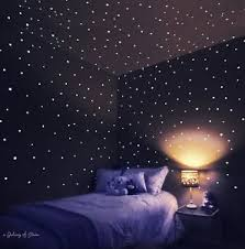 glow in the ceiling new 3d galaxy dots glow wall decor stickers bedroom
