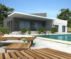 Impressive Nuance Modern White Nuance Luxury Modern Villa That Can Be Decor With