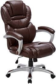 brown leather executive desk chair amazon com flash furniture high back brown leather executive swivel