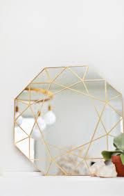 gem mirror diy easy glass cutting technique u2013 a beautiful mess