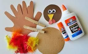 thanksgiving turkey craft for elmer s thanksgiving