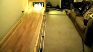 small scale bowling lane progress 02 17 14 pindeck installed