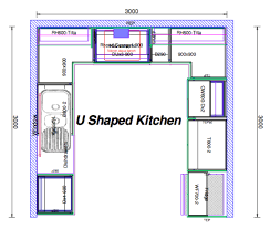 U Shaped Kitchen Designs Layouts U Shaped Kitchen Layout Ideas Kitchen Design Ideas Pinterest