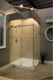 Lowes Bathroom Design Architecture Corner Shower Stalls With Frameless Shower Doors And