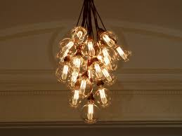 Hanging Bulb Chandelier Chandelier Stunning Light Bulb Chandelier Astonishing Light Bulb
