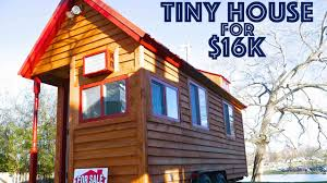 Tiny Homes On Wheels For Sale by Tiny House On Wheels For Sale 16k Youtube