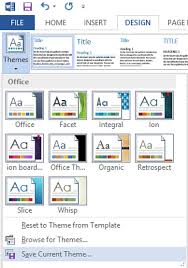 customize change theme color default font in microsoft office