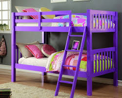 Purple Bunk Beds Donco Grapevine Bunk Bed In Purple Dn 8060